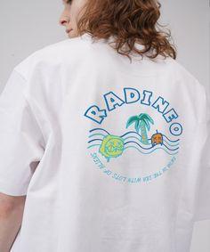 #그래픽 #반팔 #티셔츠 #라디네오 #여름 #디자인 #swim White T, Graphic Sweatshirt, T Shirt, Type, Sweatshirts, Sweaters, Mens Tops, Fashion, Supreme T Shirt