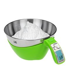 Awesome digital food scale that already comes with the bowl! Click the pic to get it!