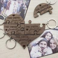 Personalised Keyrings - Treat Gifts