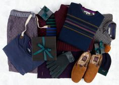 Cosy knits, soft separates and woolly accessories are the perfect Christmas gifts