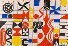 Alexander Calder - Mid-Century Modern Graphic Design Blog