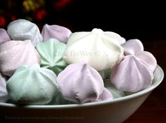 Basic Meringues With Variations or a Large Pavlova