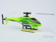 FUCB-130X-01 Fusuno Cetonia Super Combo Goblin Fuselage - Blade 130X Goblin, Canopy, Blade, Aircraft, Sports, Hs Sports, Aviation, Canopies, Planes