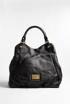 Black Francesca Classic Q Tote by Marc By Marc Jacobs