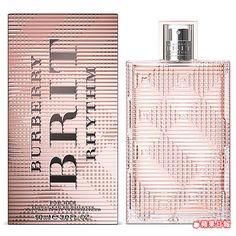 BURBERRY金屬搖滾風格女性淡香水。 90ml╱3800元