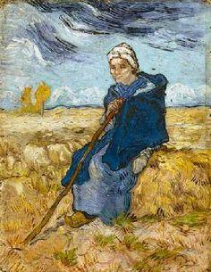 van Gogh Vincent - La bergère