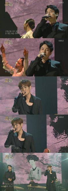 S (Lee Ji Hoon & Kangta) slow it down on 'Immortal Song 2' | http://www.allkpop.com/article/2015/04/s-lee-ji-hoon-kangta-slow-it-down-on-immortal-song-2