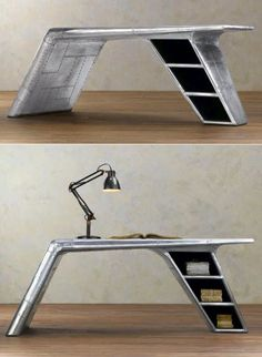 Aviator Wing Desk By MotoArt Of Cali. I Have To Say I First Found Old