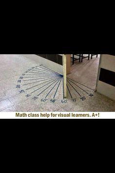 Winkel messen und verstehen!