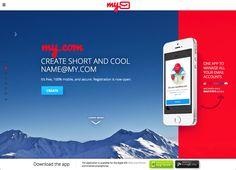 My.com推出 @my.com 免費 Email 服務,從手機收發郵件免密碼