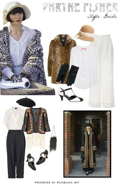 Style Guide: Phryne Fisher (Miss Fisher's Murder Mysteries) | missblack.net