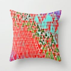 an afternoon in alpine lake Throw Pillow by Miguel Á. Núñez I. - $20.00