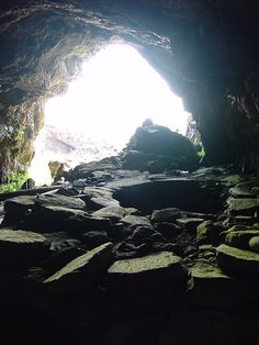 Whisky Cave, Isle of Mull, Scotland by Steve Deger, via Flickr