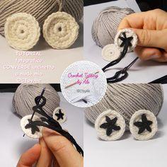 Come realizzare scarpine da neonato simil-converse a uncinetto, tutorial fotografico, istruzioni uncinetto facili per creare scarpette per bebè.