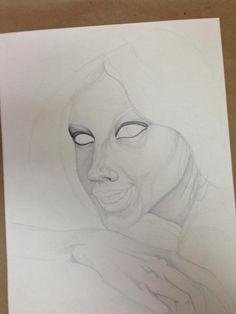 Paso 2 Grafito en papel