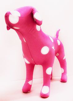 Talk about puppy love! PINK Mini Dog.