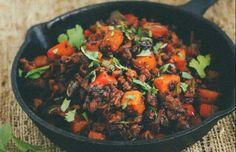 Chorizo & Sweet Potato Hash - Free Restaurant recipes