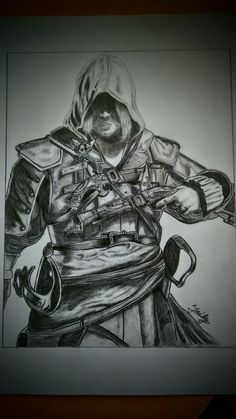 Assassin's Creed drawing