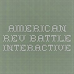 American Rev Battle Interactive