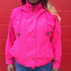 Cute Hot Pink Jacket  Lightly worn, in very good condition  True to size Comes from smoke & pet free home  FAST shipper ⚡️same day or next day  NO Trading, NO Holds  Bundling Available Jackets & Coats