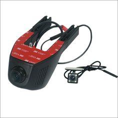 For TOYOTA Avalon Car Dash Cam APP Control Car Wifi DVR  Novatek 96658 Dual Camera Car Black Box Camcorder