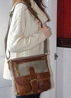 Single Buckle Tweed Satchel | Blarney Woollen Mills
