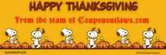 Happy Thanksgiving - http://www.couponoutlaws.com/happy-thanksgiving/
