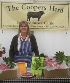 Coopers Farm rears Sussex cattle, Oxford Sandy and Black pigs and Texel-Southdown cross lamb in the traditional way. Orders can be placed for collection from the farm or you can find them at Stonegate Farmers Market every month. http://localfoodbritain.com/sussex/food/meat/coopers-farm-stonegate/