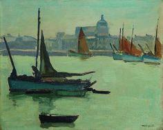 Albert Marquet - Port de la Chaume, Les Sables d'Olonne