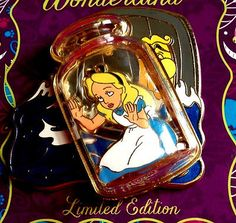 Disney Pins 2016 Alice in Wonderland in Bottle Anniversary LE Pin Disneyland Pins, Disney Pins, Disney Pin Trading, Disney Junior, Disney Jr, 65th Anniversary, Pin Pics, Dreamworks, Pin Collection