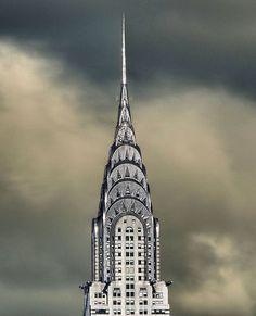 ysvoice:    | ♕ | Chrysler Building, NYC - silver crown of Art Deco    by itsnewyorkcity | via decoarchitecture | vmburkhardt