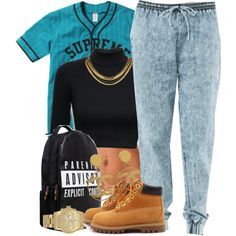 SUPREME, created by oh-aurora on Polyvore