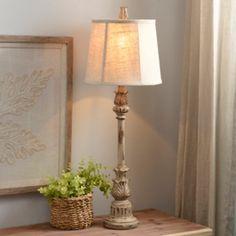 Classic Cream Buffet Lamp | Kirklands