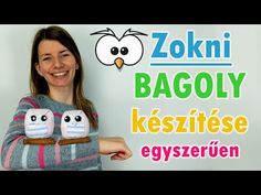 Duci zokni bagoly készítése | Zokni állatok | Manó kuckó - YouTube Doll Tutorial, Snoopy, Dolls, Christmas, Crafts, Creative, Baby Dolls, Xmas, Manualidades