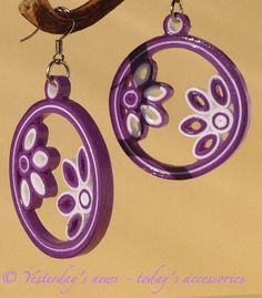 12 Awesome Paper Quilling Jewelry Designs To Start Today Paper Quilling Earrings, Paper Quilling Patterns, Quilling Paper Craft, Paper Jewelry, Paper Beads, Clay Jewelry, Jewelry Crafts, Quilling Tutorial, Serpentina