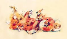 Unsettling Watercolor Illustrations by Dima Rebus
