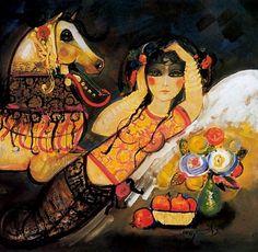 Nasser Ovissi, Iran: 'Shirin and Her Horse'
