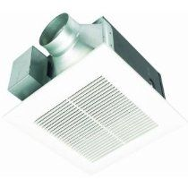 Panasonic FV-11VQ5 WhisperCeiling 110 CFM Ceiling Mounted Fan, White