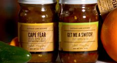 CAPE FEAR AND GET ME A SWITCH SPICY PEPPER RELISHES DUO by COTTAGE LANE KITCHEN on @UDKitchen http://undiscoveredkitchen.com a digital farmers' market for specialty, small batch food!