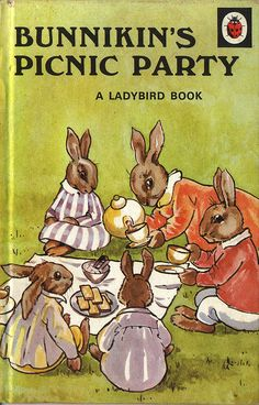 Buy Bunnikin's Picnic Party a Ladybird Book from the Animal Rhymes Series 401 - Matt Hardback 1981 Ladybird Books, Animal Books, Little Golden Books, My Childhood Memories, 1970s Childhood, Vintage Children's Books, Vintage Kids, My Books, Story Books