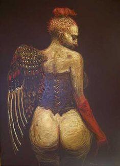 ROBERTO FABELO http://www.widewalls.ch/artist/roberto-fabelo/ #contemporary #art #installation #painting