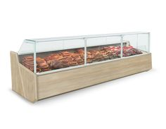 IGLOO offers a wide range of cooling counters and cases which perform excellently in butcher's shops, restaurants, bars, etc. Samos, Display Case, Outdoor Furniture, Outdoor Decor, Poland, The Unit, Deep, Storage, Room