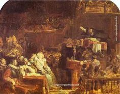 The Preaching of John Knox before the Lords of Congregation, 10 June 1559 : David Wilkie : Romanticism : history painting - Oil Painting Reproductions Hans Holbein, William Turner, Art Pop, Rey George, Heinrich Viii, David Wilkie, Art Paintings For Sale, Free Art Prints, Oil Painting Reproductions