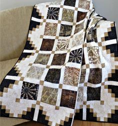 #444 Simply Cool Quilt Pattern PDF | Craftsy - $9.00 Download