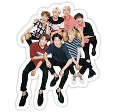BTS stickers featuring millions of original designs created by independent artists. Pop Stickers, Tumblr Stickers, Printable Stickers, Bts Chibi, First Love Bts, Bts Tickets, Icon Png, Bts Birthdays, Bts Face