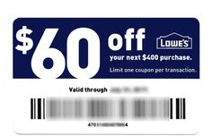 Instantly save hundreds of dollars with a printable Lowes coupon code or online Lowes promo code! Every day, smart shoppers are grabbing these, so act fast! https://myjibe.com
