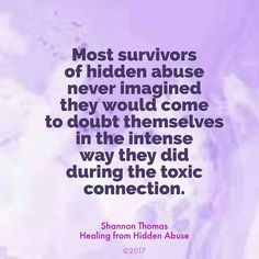 Healing from Hidden Abuse: A Journey Through the Stages of Recovery from Psychological Abuse is available on Amazon (Paperback and Kindle) Also at Barnes & Noble, Smashwords & iBook