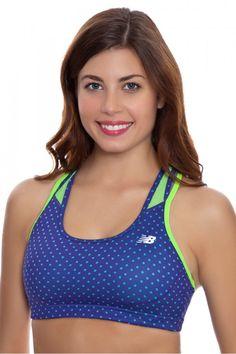 c762a62551 New Balance Women s Tonic Crop Print Sports Bra