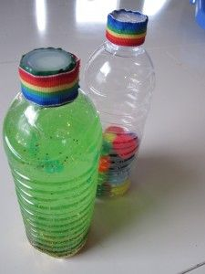 Shamrock Shakers – Discovery Bottles - - Pinned by #PediaStaff.  Visit http://ht.ly/63sNt for all our pediatric therapy pins