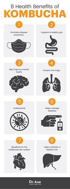 Benefits of Probiotics   Benefits of Kombucha   Gut Health   Healthy Habits   Health Tips   Nutrition Tips